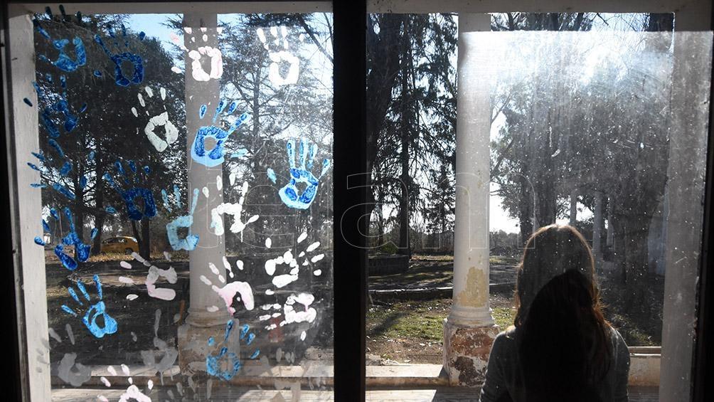 En el predio se encontraba el ex Grupo de Artillería 141 del Ejército Argentino, centro clandestino de detención y tortura durante la dictadura militar. Foto: Irma Montiel.