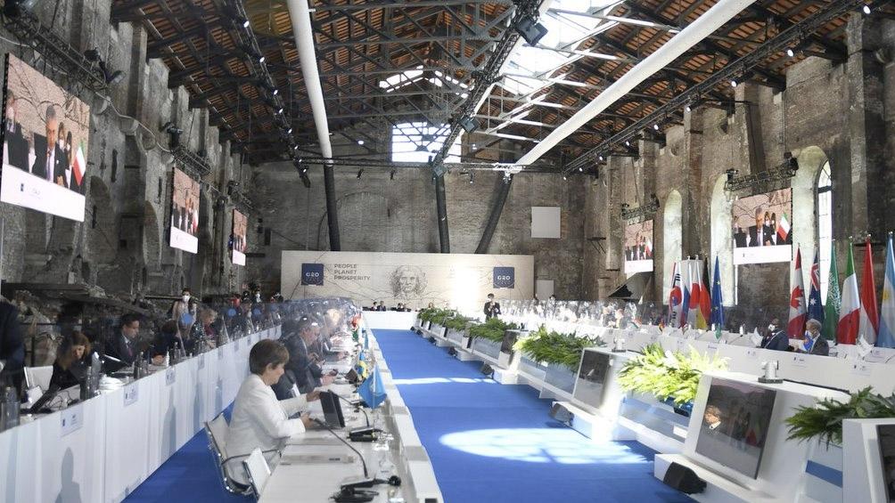 """El G20 aprobó un """"histórico"""" impuesto global a las multinacionales - Télam  - Agencia Nacional de Noticias"""