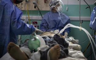 Esfuerzo, acompañamiento y compromiso de un kinesiólogo patagónico en pandemia