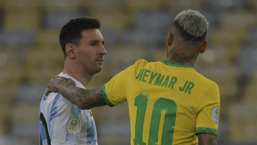 Messi y Neymar, los amigos que definen la Copa América 2021 (Foto: @CopaAmerica)