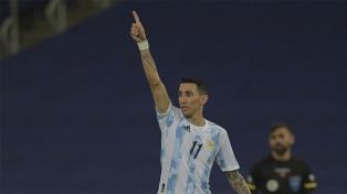 El gol de Argentina que abrió el marcador ante Brasil