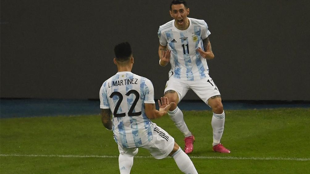 Di María, el goleador de la primera parte de Argentina (@CopaAmerica)
