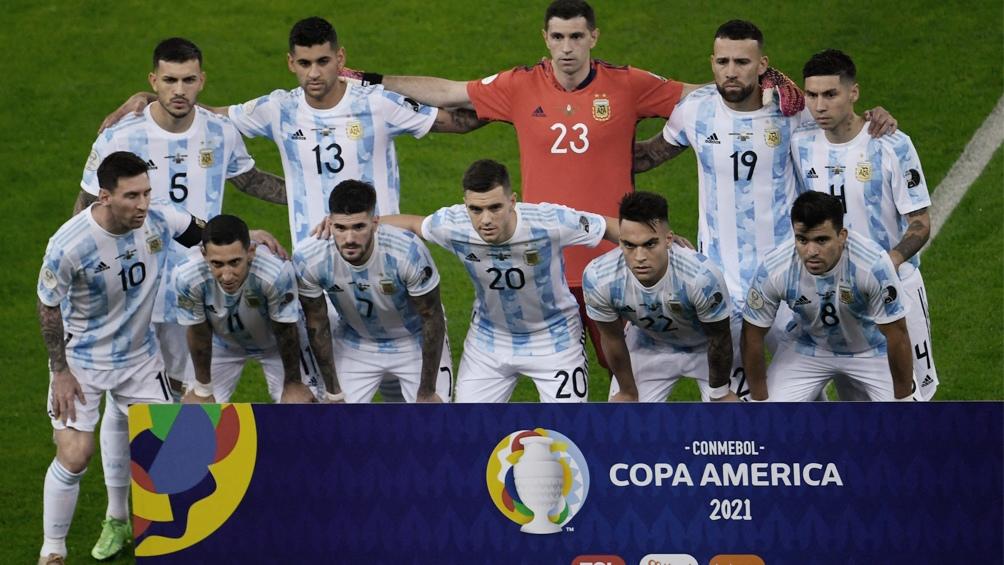 Argentina salió campeón continental tras 28 años (Foto: @CopaAmerica)