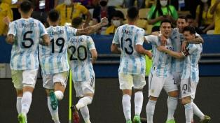 El minuto a minuto de Argentina campeón