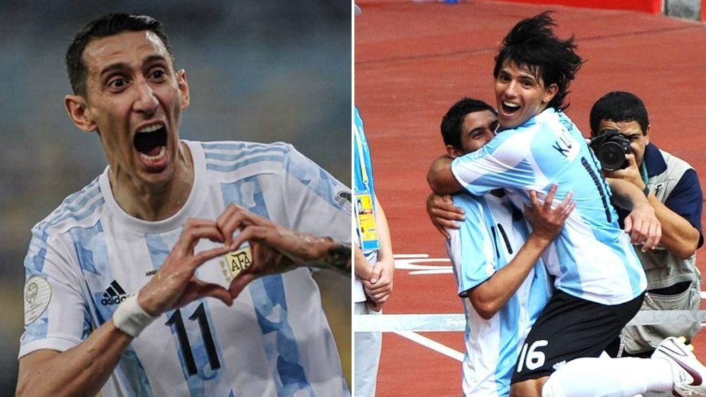 Di María, el de los golazos que le dieron títulos a la Argentina