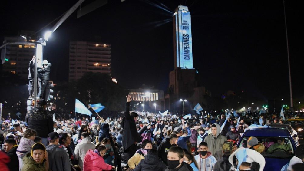 Monumento a la Bandera en Rosario. Fotos: Sebastián Granata