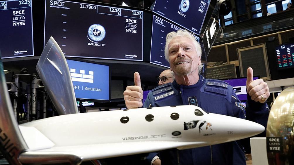 El vuelo se transmitirá en directo a través de la página web de Virgin Galactic