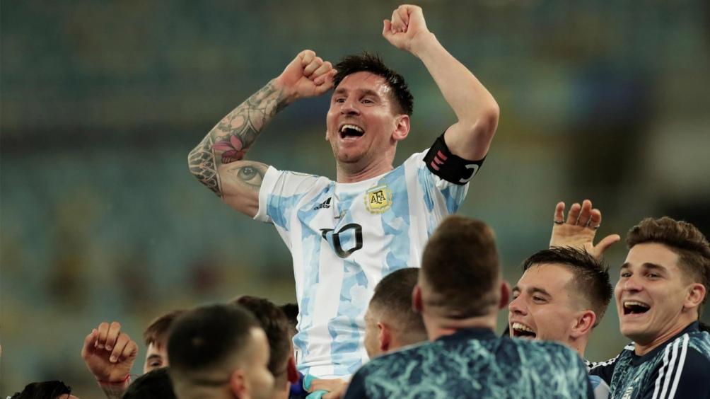 Messi, al pendiente de la delegación argentina que disputará los Juegos Olímpicos (foto archivo)