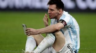 El show de Messi en Twitter