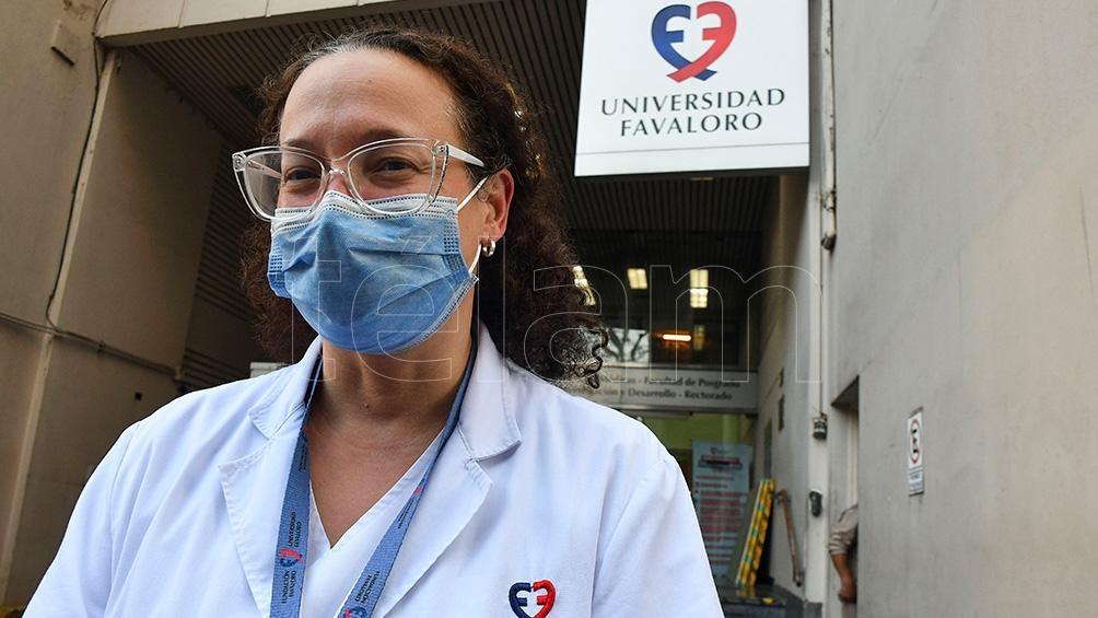 Ráquel Vázquez is a graduate of Medicine from the Favaloro Foundation and a teacher.