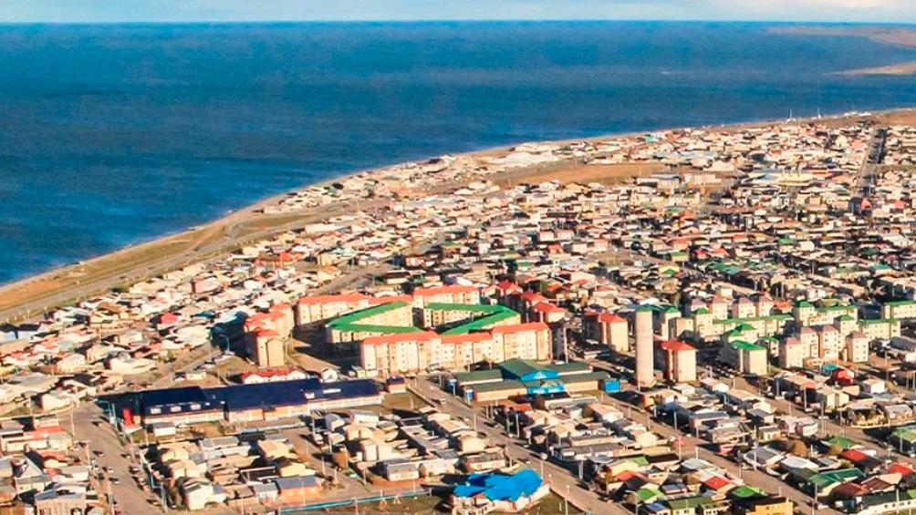 La ciudad fueguina de Río Grande hoy cuenta con casi 100 mil habitantes.