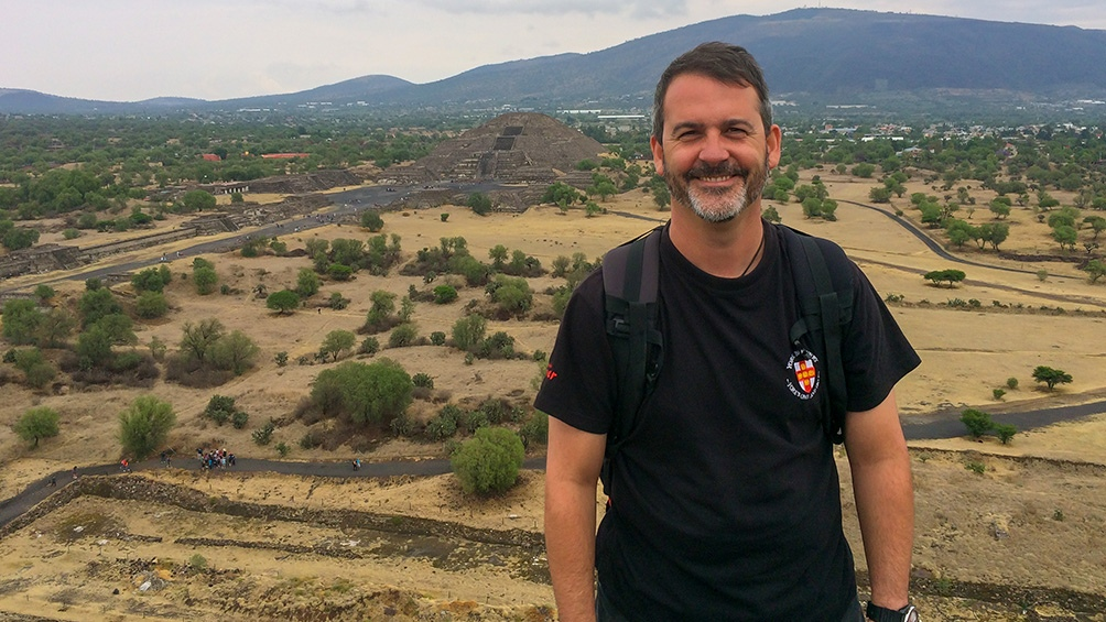 Arqueólogo, historiador e investigador del CONICET Ivan Briz i Godino.