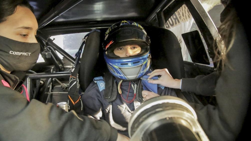 El Chevrolet Cruze del equipo Vitarti, listo para entrar en acción.
