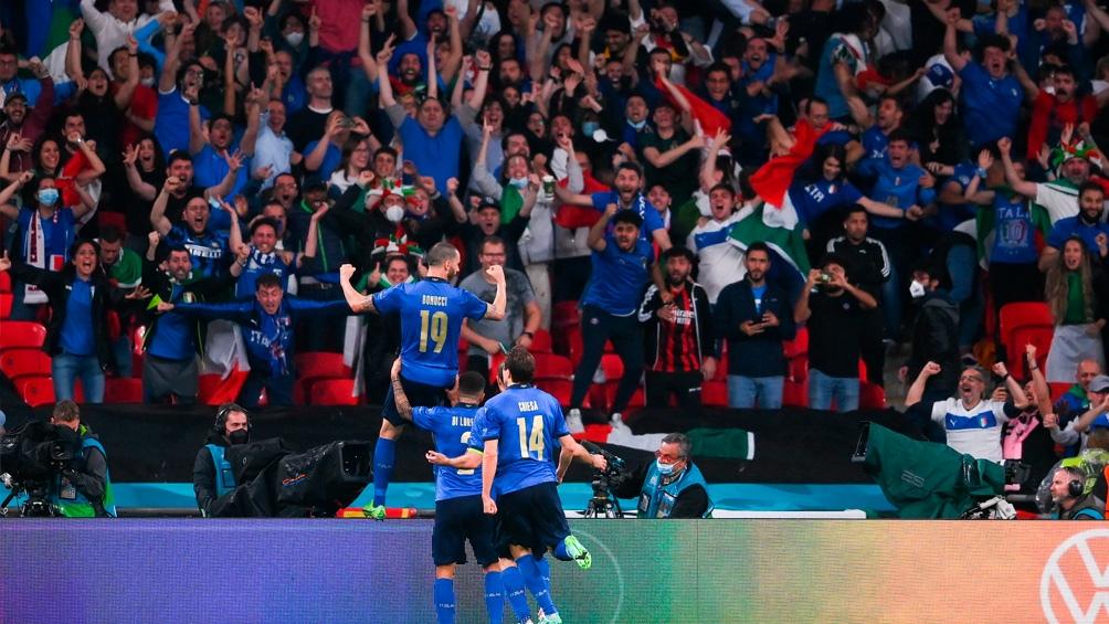 Italia salió campeón en Wembley.