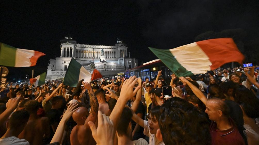 Italia no ganaba la Euro desde 1968 y el título fue un desahogo para muchas generaciones.
