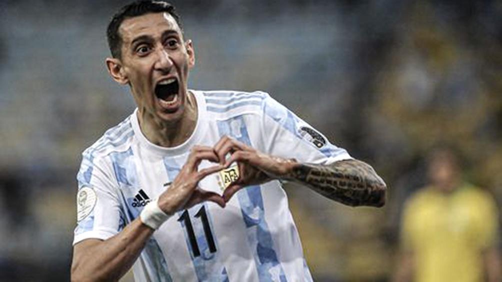 Angel Di María y un amor incondicional por la Selección Argentina