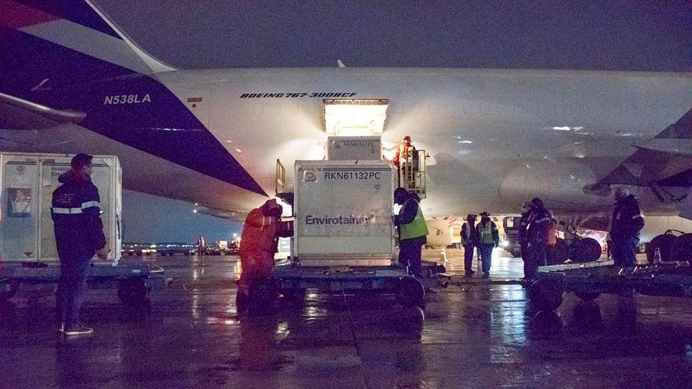 Hasta este lunes a la mañana Aerolíneas Argentinas ya trajo al país 25.116.375 dosis de vacunas en 37 vuelos.