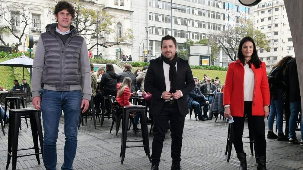 El economista radical Martín Tetaz lanzó su precandidatura a diputado nacional por la Ciudad de Buenos Aires.