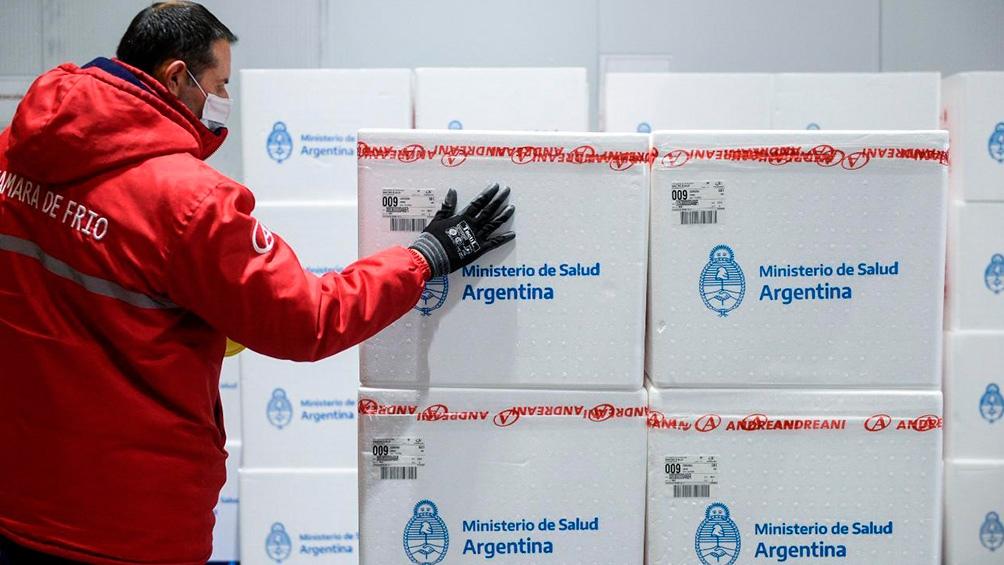 Con este cargamento, el país supera las 30 millones de vacunas.