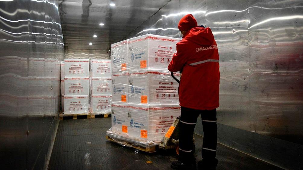 Se suman 760 mil dosis de vacunas Sinopharm.