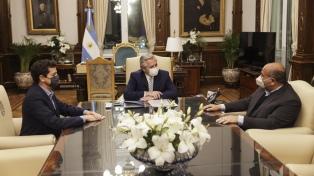 """El presidente recibió al gobernador de Tucumán para """"avanzar con inversiones y proyectos"""""""