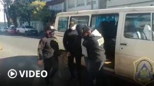 Se negó a declarar el prófugo que fue detenido en una vacunatorio de Mar del Plata