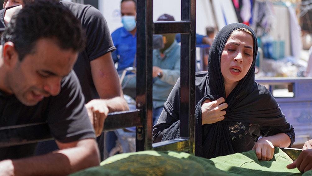 La tragedia generó una ola de indignación y cientos de personas se congregaron frente al hospital en Nasiriya.