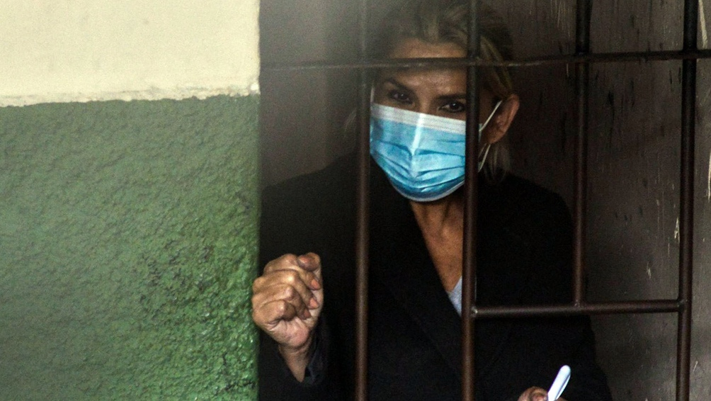 Jeanine Áñez se encuentra en prisión preventiva desde marzo e intentó suicidarse a mediados de agosto.