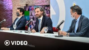 """Cafiero: """"La Argentina no vive del marketing político; necesita obras, trabajo y generar producción�"""