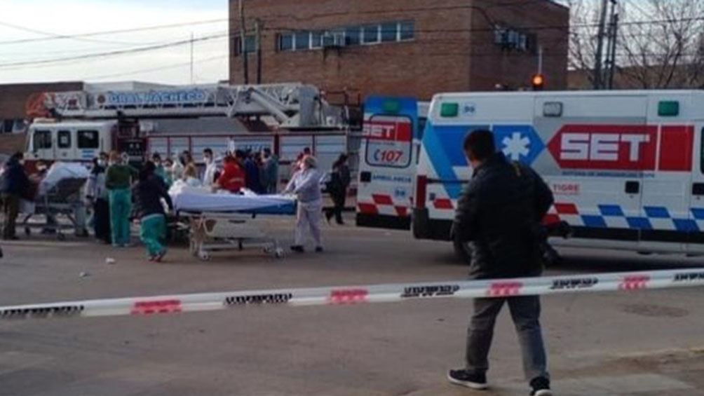 El hospital está ubicado en Av. de los Constituyentes y Entre Ríos. Foto: cuenta Tw @delmagro.