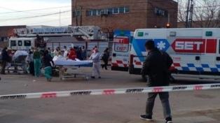 Un incendio afectó la sala de partos de un hospital en Pacheco