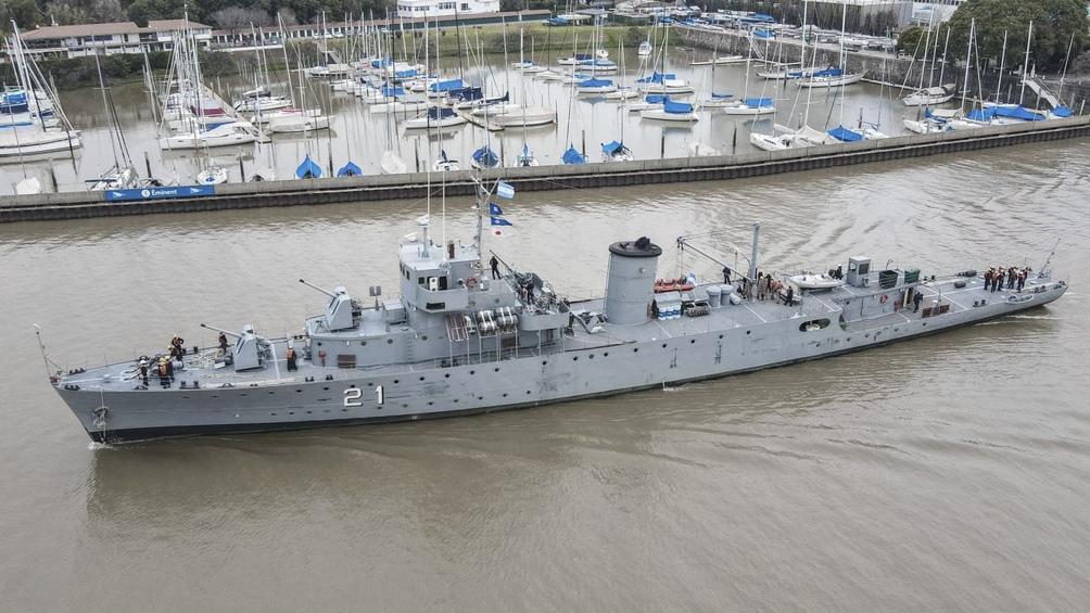 """El buque multipropósito """"Ciudad de Rosario"""" y el patrullero """"King"""" llevarán servicios sanitarios y sociales"""