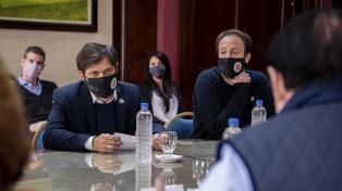 Kicillof anunció que adelantará una cuota de la paritaria de los estatales bonaerenses