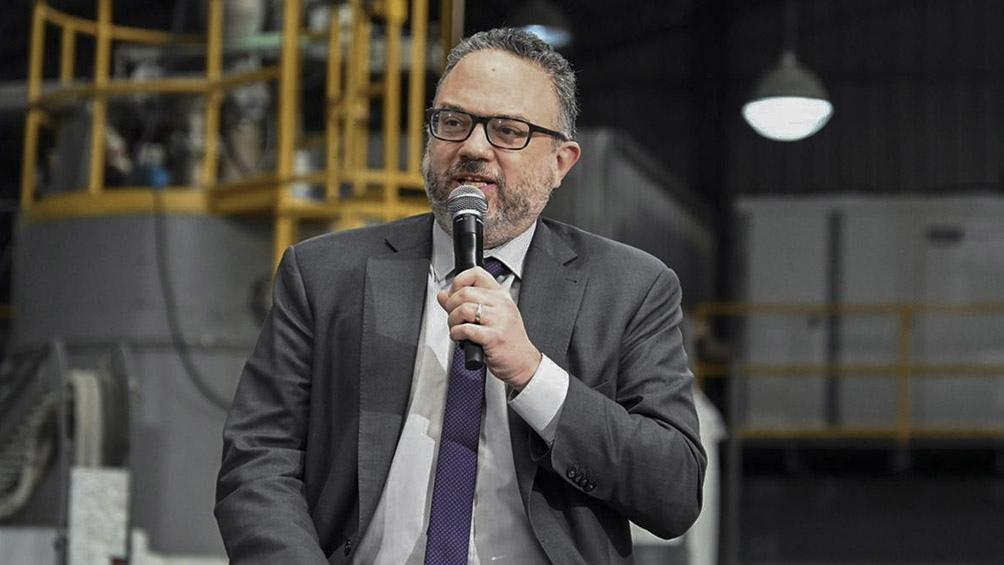 O ministro de Desenvolvimento Produtivo, Matías Kulfas