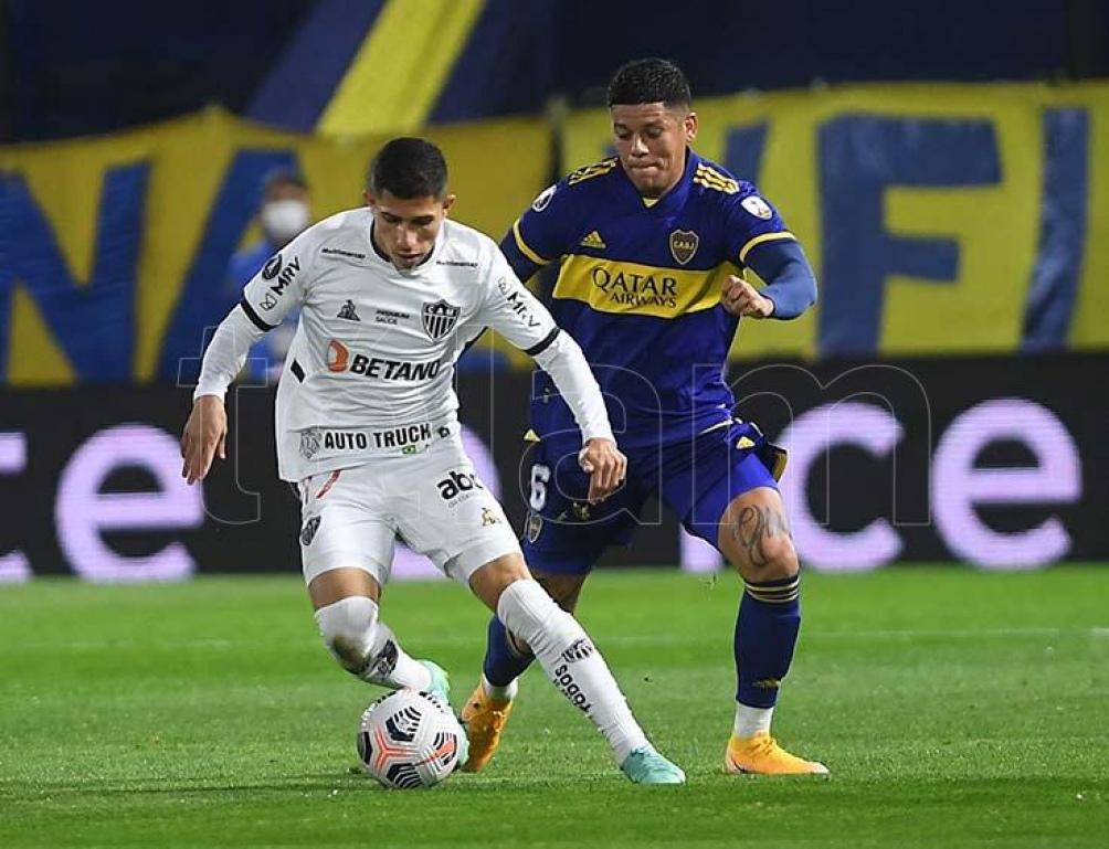 Boca y Atlético Mineiro dejaron la serie abierta.