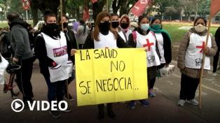 Médicos municipales de CABA realizan paro en reclamo de un 50% de aumento de salarios