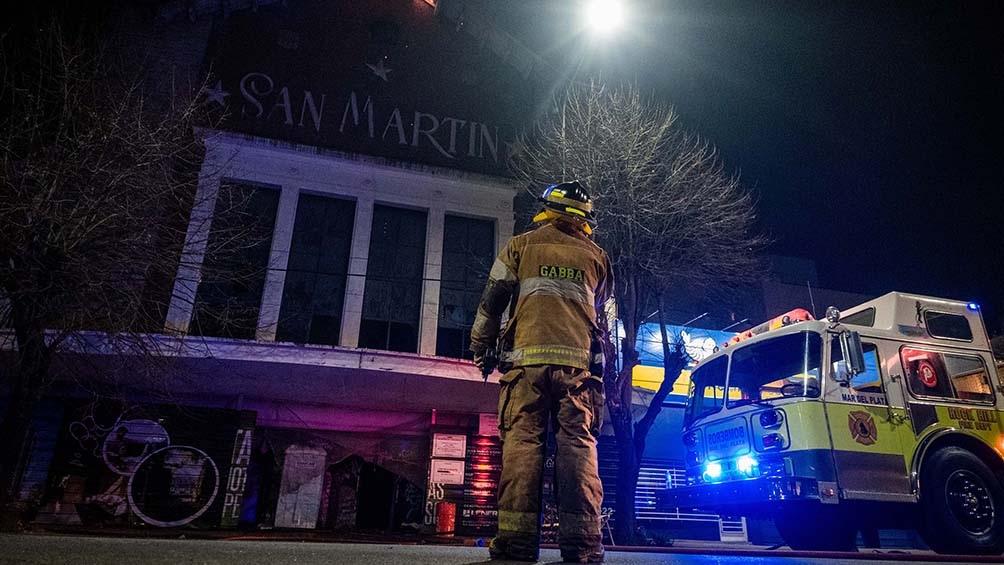 El incendio no afectó a inmuebles lindantes y tampoco se registraron heridos.