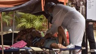 Cifras récord de contagios y muertes en Asia por la variante Delta