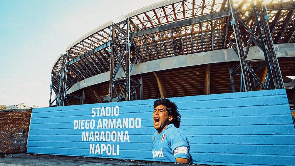 Nápoles ofreció el estadio Diego Maradona para el amistoso entre Argentina e Italia