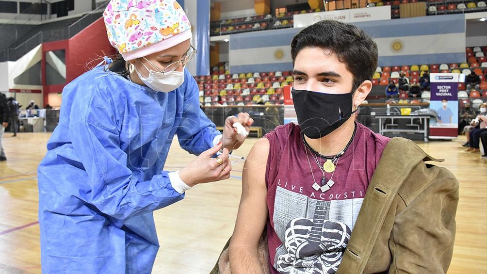 """""""Es muy, muy inminente la aprobación de Sinopharm (para niños y adolescentes) de 3 a 18 años"""". Foto: Rubén Paratore."""