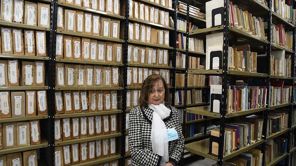 En el Centro de Documentación e Información sobre Judaísmo Argentino Marc Turkow. (Foto: Pablo Añeli)