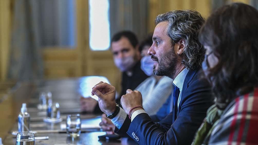El jefe de Gabinete encabezó en la Casa Rosada la presentación de los resultados preliminares de las investigaciones del programa Argentina Futura.