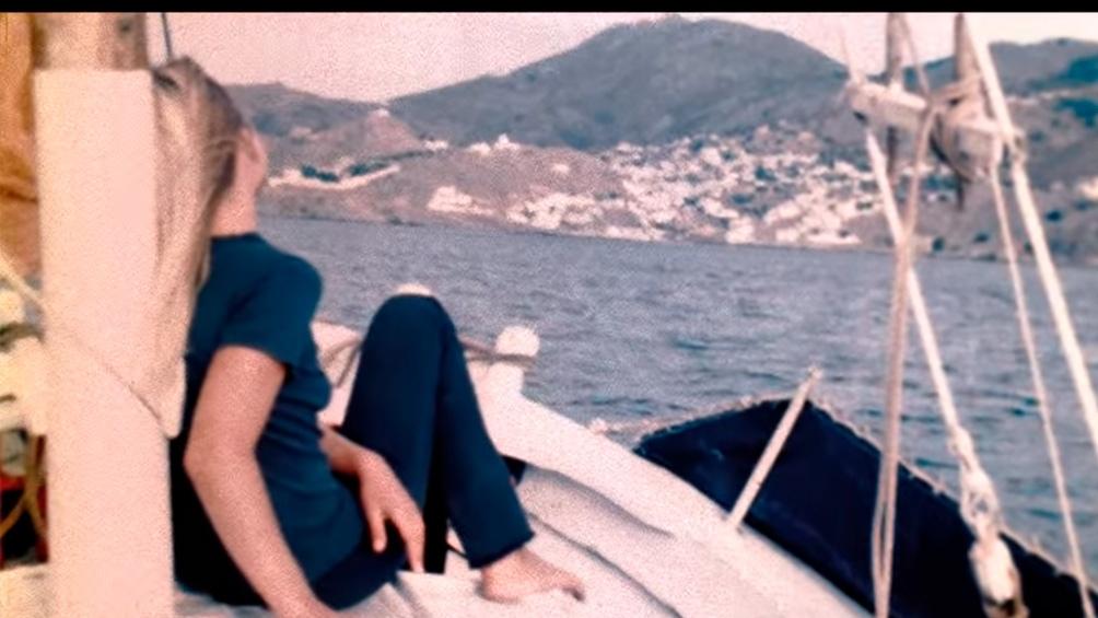 Marianne en Hydra.