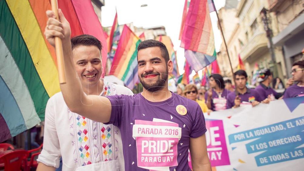 Simón Cazal y Sergio López vinieron en 2012 desde Paraguay para llevar a cabo la primera boda igualitaria de extranjeros en la Argentina.