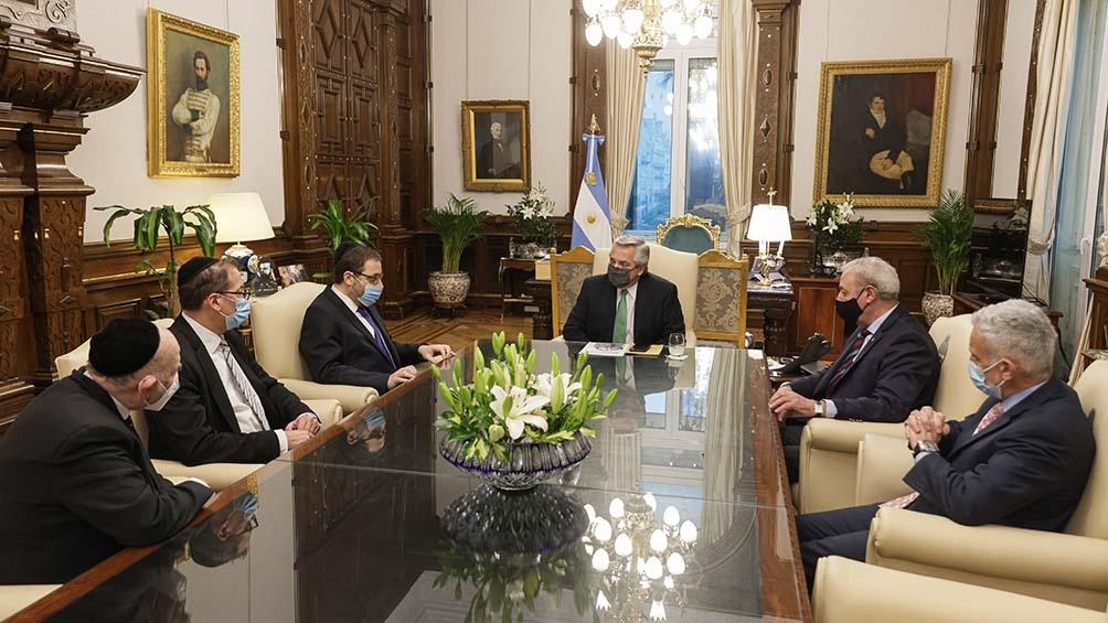 """La AMIA reiteró su invitación al jefe de Estado """"para participar"""" del acto que se hará el viernes próximo."""