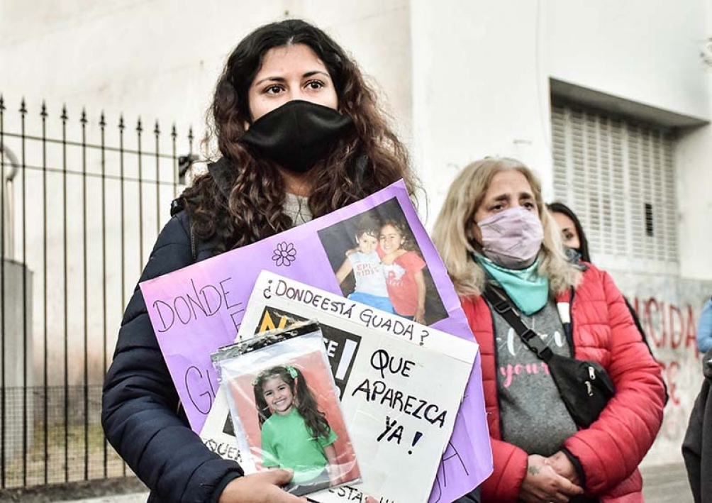 Habrá una nueva concentración, a cuatro meses de la desaparición de Guadalupe. (Foto El Diario de la República)
