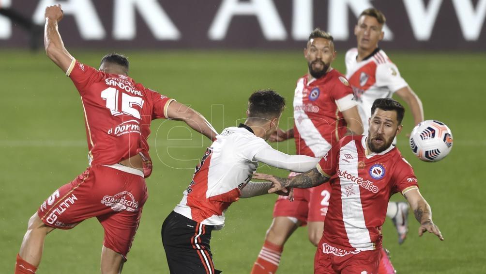 Fue empate en el Monumental (Foto: Alejandro Santa Cruz).