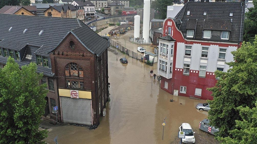Temporal con fuertes lluvias en Alemania (AFP)