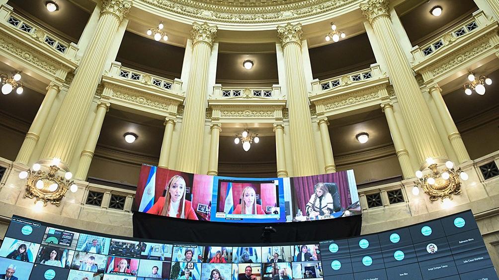 El interbloque Parlamentario Federal, aliado de la oposición, arriesgará la banca que ocupaba Reutemann y en la que ahora se sienta Alejandra Vucasovich.