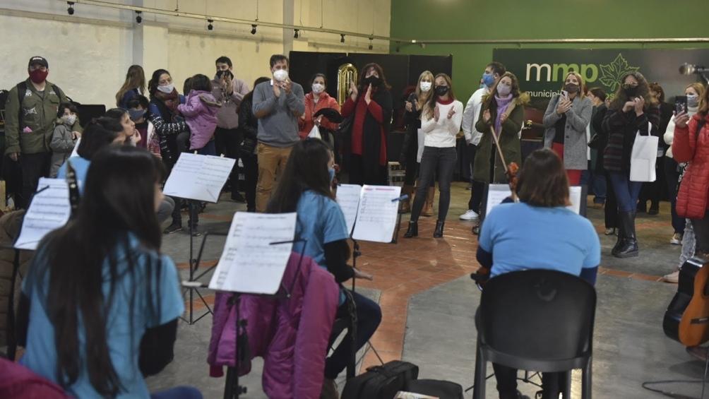 """El evento se llevó a cabo en el Paseo Cultural """"El Galpón"""" de Marcos Paz"""